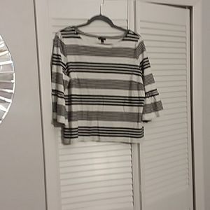 Talbots XL bell sleeved top